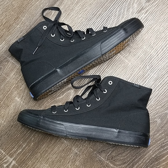keds black high tops